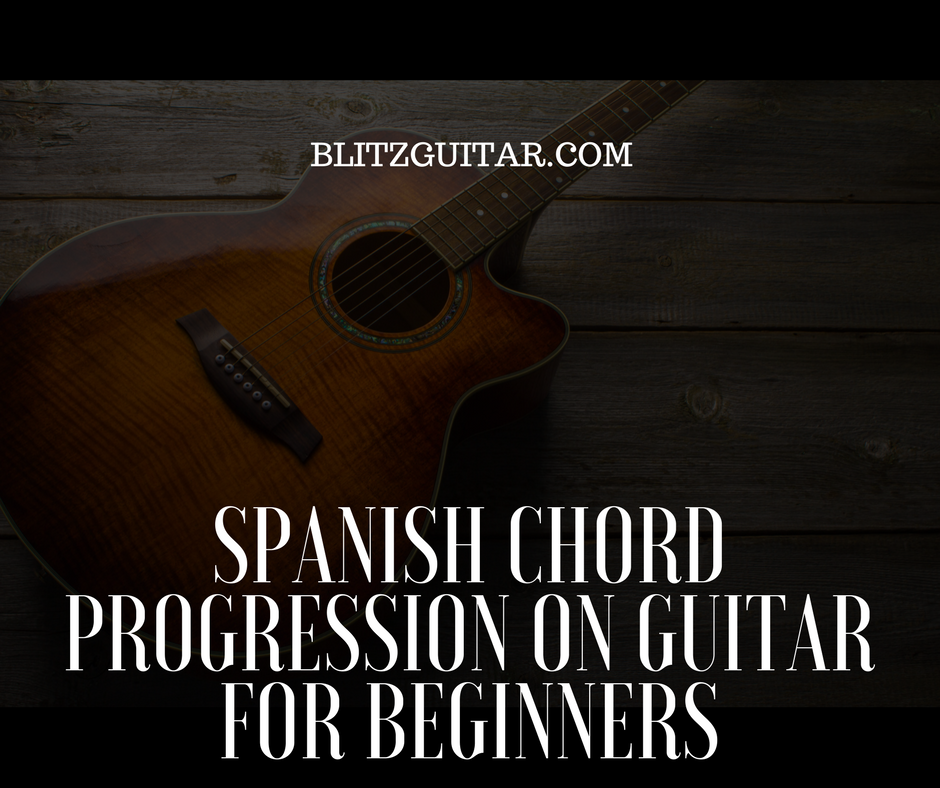 fingerstyle guitar spanish chord progression for beginners. Black Bedroom Furniture Sets. Home Design Ideas