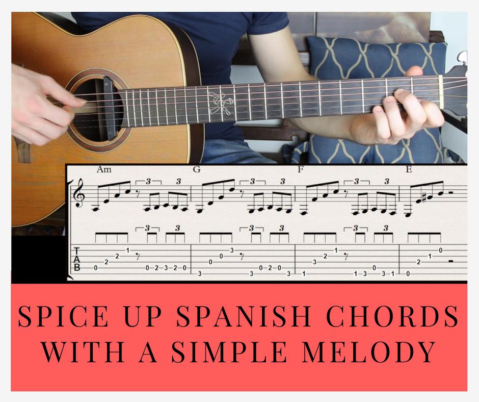 spice up spanish chord progression on guitar beginner guitar lesson. Black Bedroom Furniture Sets. Home Design Ideas